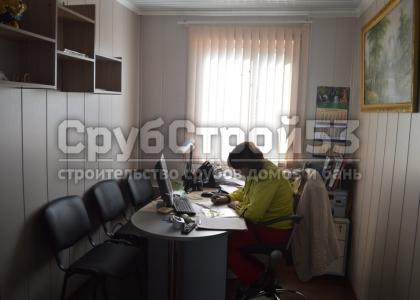 """Офис компании """"СрубСтрой53"""""""