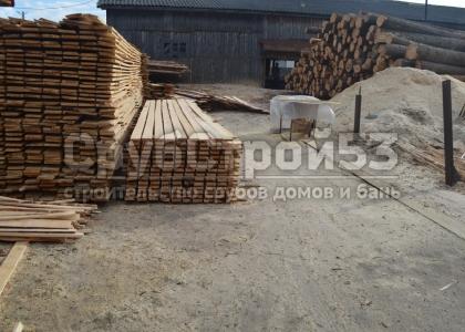 Заготовка обрезной доски 20х100 и 20х150